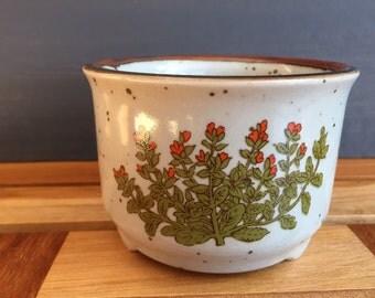 sweet stoneware planter pot Japan