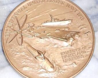 1775 Bicentennial Commemorative Navy Coin**