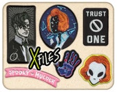 Coey: X-Files Patches, Bags, Prints