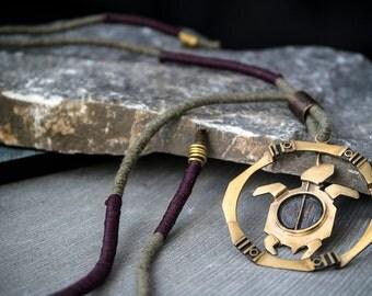 Polygon Turtle Bronze