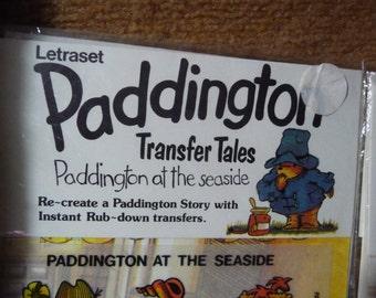 Paddington Bear rub-down transfers