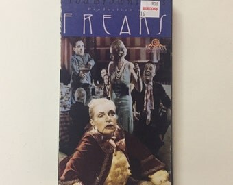 Tod Browning's Production of FREAKS VHS 1990