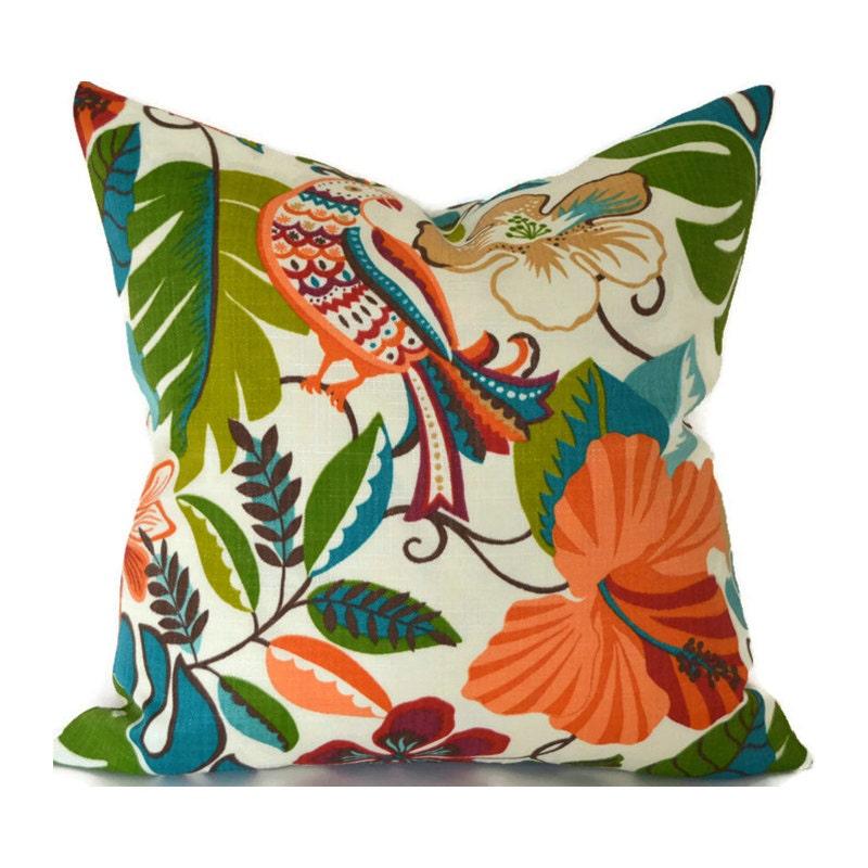 Decorative Outdoor Pillow Covers : Indoor Outdoor Pillow Cover ANY SIZE Decorative Pillows