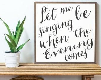 Let Me Be Singing 2x2