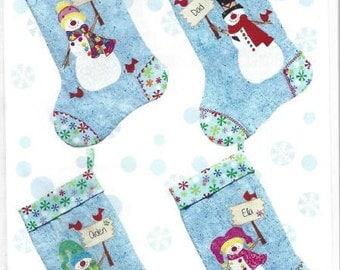 Build-A-Stocking -Christmas Stocking Pattern