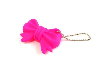 Bright Pink Bow USB Flash Drive 8GB