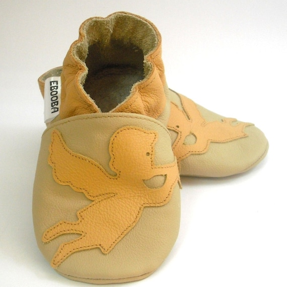 soft sole baby shoes leather infant kids children girl angel