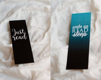 Just Read & Wake Up Bookmarks