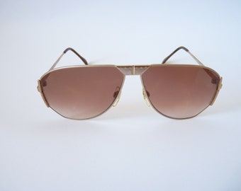 Jaguar 715 Mens vintage sunglasses 1980s aviator style