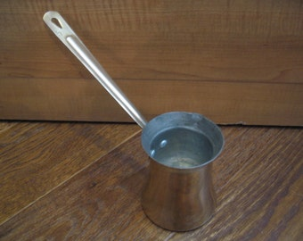 Vintage Brass Butter/Sauce Pitcher/Pourer From Lebanon