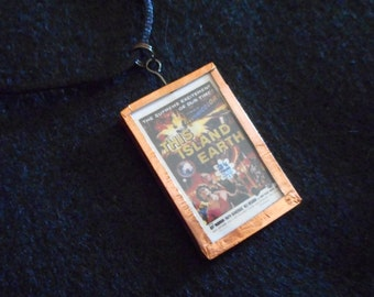 This Island Earth B-Movie Poster Necklace
