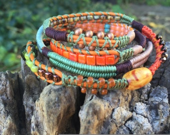 Embrace Fall Wrap Bracelet