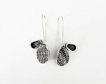Earrings ** SEA URCHIN** Sterling silver
