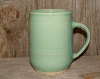 12 oz. Aqua Green Coffee Cup