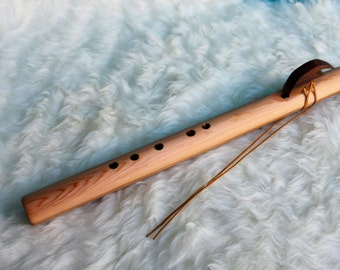 Native American Style Flute in Key of F# with FREE Flute Bag