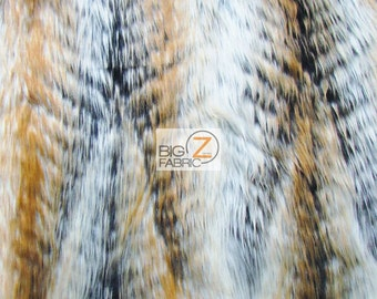 Faux Fake Fur Animal Short Pile Coat Costume Fabric  - FOREST DEER - By The Yard Costume Clothing Accessories Scarf Coats Rugs