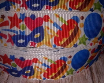 Party Grosgrain Ribbon