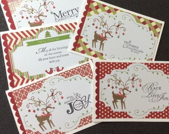 Gift Set, Christmas, Card Set, Family, Friends, Handmade, stampin up