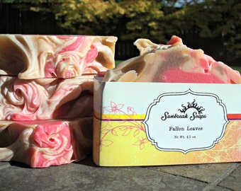 Handmade Soap, Fallen Leaves