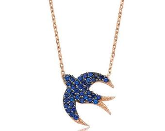 Pigeon or Dove, Silver Bird pendant,