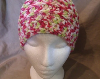 Woman's Beanie Cap - Reversible