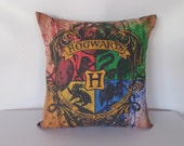 Harry Potter/Daily Prophet Pillow Cover