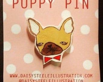 French Bulldog 'Puppy Pin'