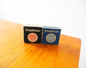 Voigtländer Filter 32mm & 40.5mm with packaging