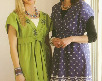 Crossover Tunic Pattern by Indygo Junction (IJ971)