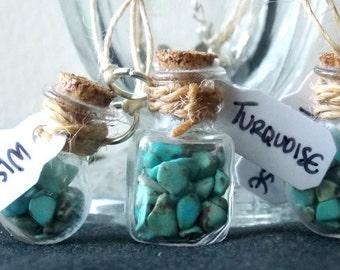 Turquoise Bottled Wisdom Necklace