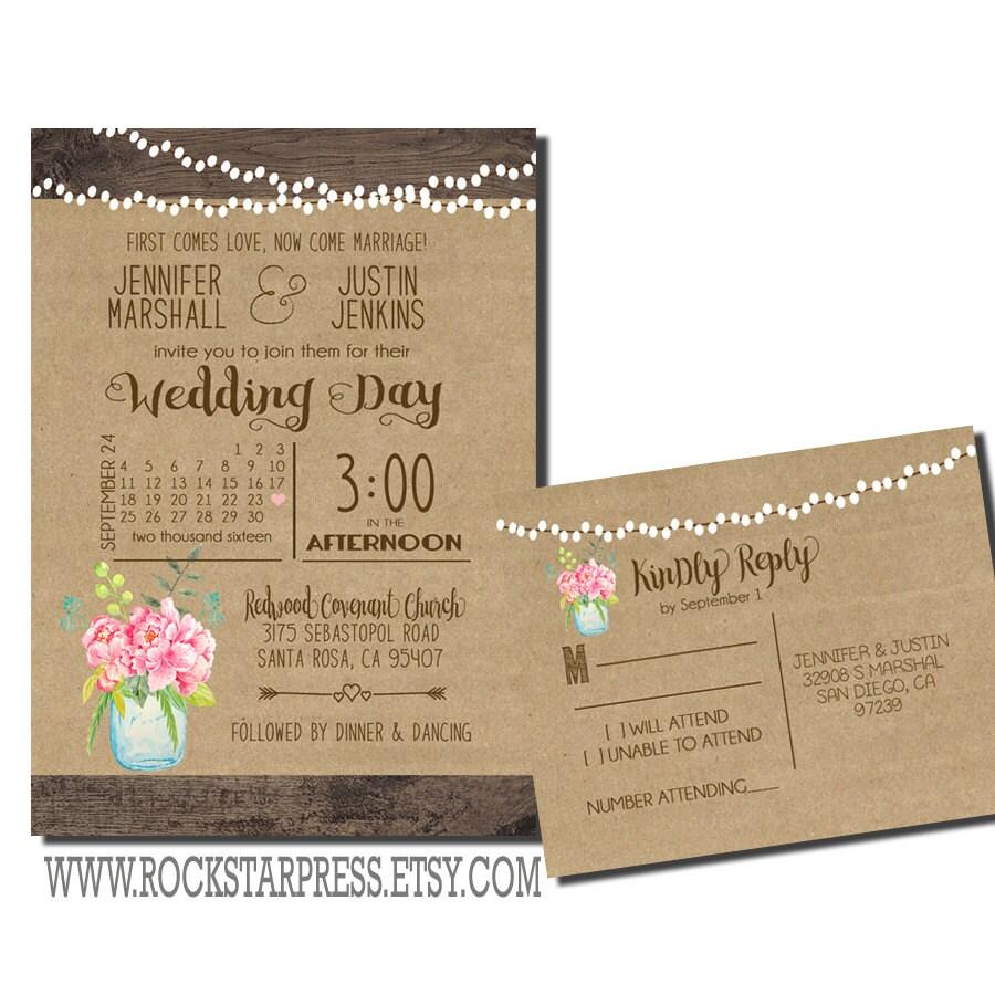 Outdoor Rustic Wedding Invitations 28 Images Antler Wedding