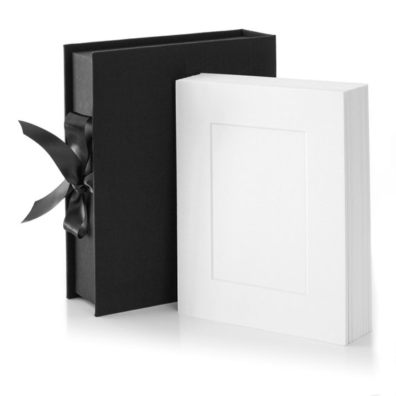 11x14 Bundle Black Folio Box 11x14 Black Linen By Folioboxart