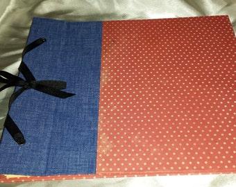 Handmade, Customizable, Scrapbook Album