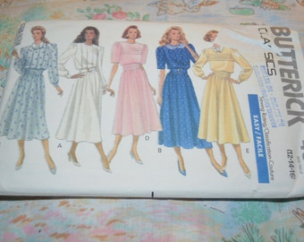 Butterick 4368 Misses Dress Sewing Pattern - UNCUT - Size 12 14 16
