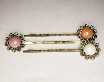 Bronze Hair Pin Set