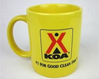 Vintage KOA Mug, Airstream Chic