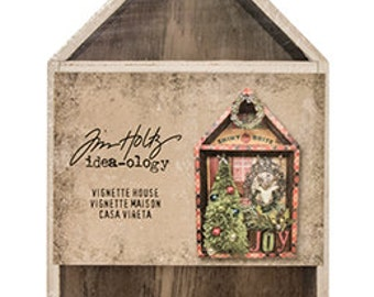Tim Holtz Idea-ology Vignette House TH93339