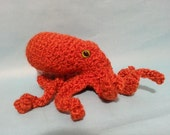 SALE Giant Pacific Octopus- Actual Item - Ready to Ship! Crocheted Plush