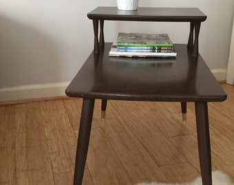 One end table mid century 50's