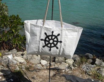 Captains recycled sail bag
