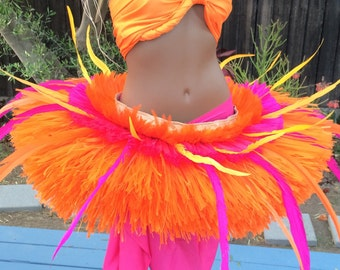 Extra fancy orange and pink Tahitian hip hei