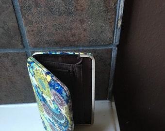 Paisley  wallet