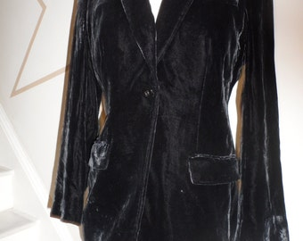 armani collezioni jacket size 4 feels like a soft velvet total class and style