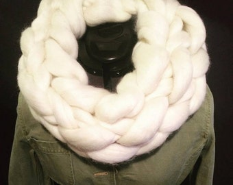 Australian Merino Wool Infinity Scarf