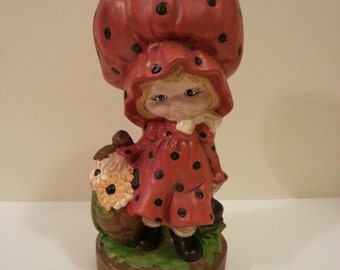 Ceramic Hobbit Girl Figurine