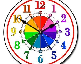 Learning clock | Etsy