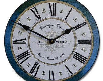 Vermont Blue Wall Clock