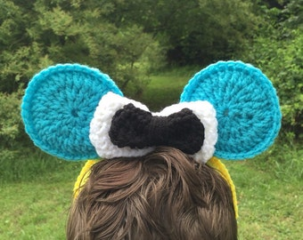 Alice in Wonderland-Inspired Mickey Ears Headband