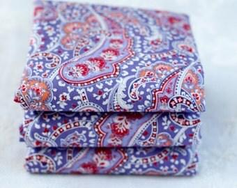 Purple Paisley Fat Quarter | Cotton Fabric