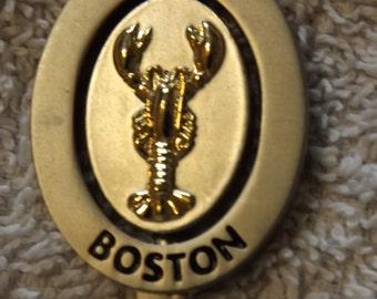 Collector Souvenir Spoon Boston Lobster SP166